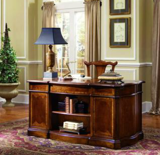 Gentil 0127   Executive Desk, Home Office Desk, Wood Desk